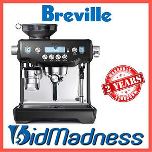 BREVILLE BES980BKS The ORACLE AUTO MANUAL ESPRESSO COFFEE MACHINE P'UP AVAILABLE