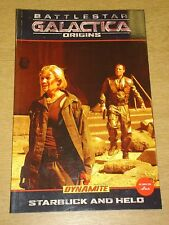 BATTLESTAR GALACTICA ORIGINS STARBUCK AND HELO DYNAMITE GN < 9781606900383