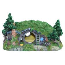 Aquarium Decorations Castle Hiding Cave Hobbit House Reptiles Fish Tank Decor