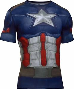 Under Armour Youth Alter Ego DC/Marvel Comics Heroin Fitted Shirt [Various size]