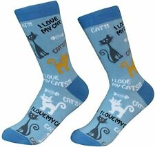 Sock Daddy Unisex Cat Socks - 1 Pack - One Size Fits Most! 200 Needle, Soft Comb