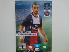 PANINI ADRENALYN XL CHAMPIONS LEAGUE 2013 2014 - PASTORE PARIS SAINT GERMAIN