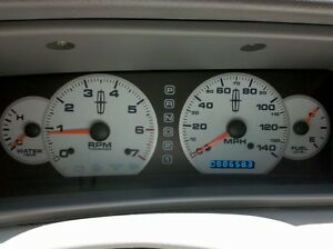 White Face Gauges for 97-98 Lincoln Mark VIII