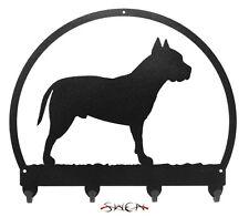 Pit Bull Terrier Dog Metal Key or Leash Hanger *NEW*