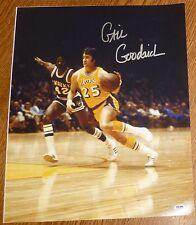 Gail Goodrich Signed Lakers 16x20 Photo PSA/DNA COA Auto'd Autograph Picture HOF