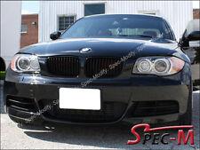 OE Matte Black Front Grille Grill For 08-13 BMW E82 116i 118i 120i 128i 135i