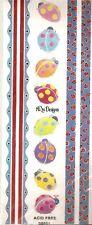 LADYBUG Scrapbook Stickers and Borders