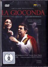 DVD PONCHIELLI LA GIOCONDA Placido DOMINGO EVA MARTON Kurt Rydl Adam Fischer