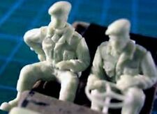 Milicast FIG074 1/76 Resin WWII British Jeep Crew