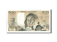 Billets, France, 500 Francs, 500 F 1968-1993 ''Pascal'', 1990 #208972