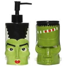 Sourpuss Frankenstein Monster Bride Bathroom Set Retro Tattoo Punk Rockabilly