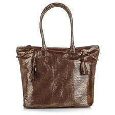 Marilyn Miglin Tote Bag, Shopper, Gift Bag ~ Gold Animal Print  ~ LOT of 3 BAGS!