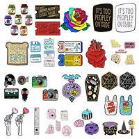 52styles Lovely Cartoon Enamel Lapel Collar Pin Corsage Brooch Fashion Jewelry