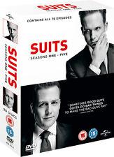 Suits Season TV Series 1+2+3+4+5 Complete DVD 1-5 Boxset Boxed Set New