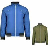 Mens D-Rock Summer Light Weight Windbreaker Zip Pocket Blouson Jacket