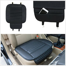 One Pcs Black Bamboo Charcoal Car Autos Seat Comfortable Cushion Cover Universal