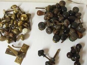 Vintage Brass / Wooden handles etc ( Huge job lot) - *** rare opportunity ***
