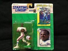 STARTING LINEUP 1993 ACTION FIGURE & CARDS WARREN MOON #1 HOUSTON OILERS NFL