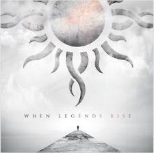 Godsmack 2018 CD Album When Legends Rise Ltd Edition Digi-pack