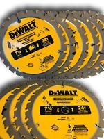 "(10 PACK) 7 1/4"" DW3178B10 Framing Saw Carbide Circular Saw Blade DeWalt"