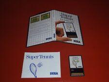 Super Tennis (Sega Master, 1986) -Complete
