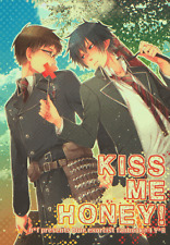 Blue Exorcist Ao no Doujinshi Comic Manga h*f Yukio x Rin Kiss Me Honey!