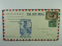 Canada 1931 First Flight Cover Vancovuer Victoria to Ontario #C2 #164 Airmail VF