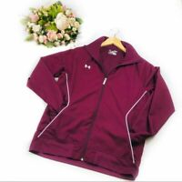 Under Armour Track Windbreaker Jacket Full Zip Women's Medium
