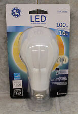 GE 13918 Dimmable 16W A21 LED 100W Equal 1600 Lumens Light Bulb