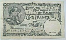 5 Francs 1926 Date : 26-06-1926 !!! Belgïe Belgique Zeldzaam !!!! Rare #F3#