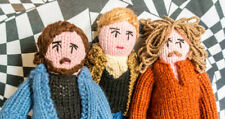 Limited Edition Knitted Crosby Stills & Nash
