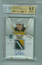BGS 9.5 UPPER DECK THE CUP SIGNATURE PATCHES PATRICE BERGERON AUTO #13/75 3 CLR