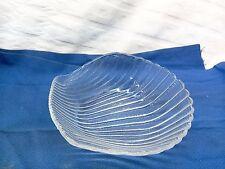 Glass Seashell Dish Trinket