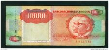 ANGOLA - 1991 10000 Kwanza Circulated Note Serial Number/Condition as Scans (2)