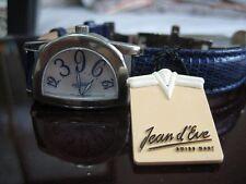 swiss made cheapest Jean D' Eve half round  Retrograde JUMP HOUR watch