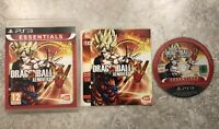 Dragon Ball Xenoverse Sony Playstation 3 PS3 Game Complete