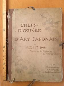 ART JAPONAIS MIGEON GARDES DE SABRE CASQUE COUTEAU LAQUE INROS NETSUKES BRONZE