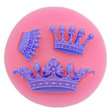 Corona Forma Molde De Silicona Taza Baby Shower Fondant pastel Sugarcraft decorando 153