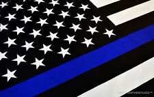 SUPPORT Thin Blue Line Police Flag - Best Quality & Ships Free -  FOP PBA NYPD
