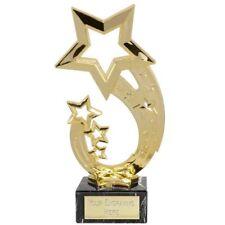 "Gold Rising Star Star Multisport, Dance Trophy,Award,175mm (7""),FREE Engraving"