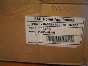 Genuine 144486 Bosch Washer Pump-Drain