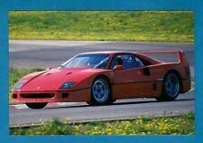 Sports Car Postcard ~ Ferrari F40 - Niccolini of Italy
