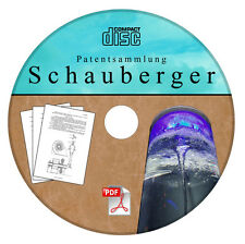 Viktor Schauberger - seine Patente auf CD - Patentsammlung vom Feinsten Wasser