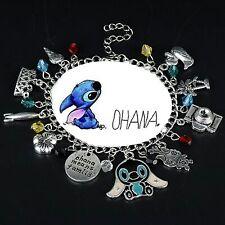 bracciale lilo and stitch disney cartone ohana famiglia regalo friends family