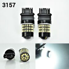 T25 3057 3157 4157 Rear Turn Signal Light White 78 SMD LED Bulb K1 For Dodge AK