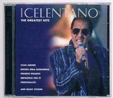 ADRIANO CELENTANO THE GREATEST HITS - 2 CD F.C.