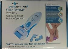 NatureTech Pedicure Wet/Dry Callus Remover Battery Operated Water Resistant open