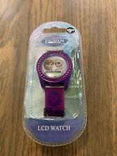Disney Frozen Anna Elsa Kids Digital Wrist Watch Girls Birthday Purple Snowflake