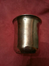 Timbale ancienne argent