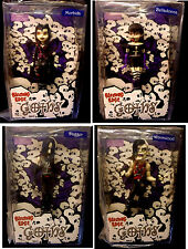 "Bleeding Edge Goths Series 1 Set of 4 Gothic 7"" Dolls Dagger NCIS New 2004 Goth"